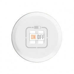 Розетка USB двойная для зарядки, 1500 мА (белый) 67462 - 68256 - 80251