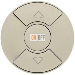 Кнопочный выключатель Celiane для рольставней, штор, жалюзи (слоновая кость) 66290 - 67602 - 80251