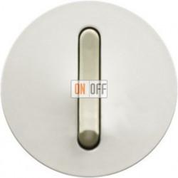 Выключатель с узкой клавишей Legrand Celiane 6А  (белый) 65001 - 67001 - 80251