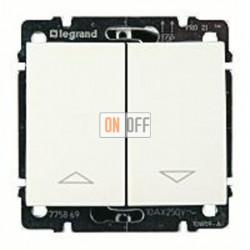 Выключатель управления жалюзи для прямого управления приводом с механич.блокировкой, 10 А / 250 В~ 775804 - 777014