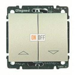 Выключатель управления жалюзи для прямого управления приводом с электрич.блокировкой, 10 А / 250 В~ 775814 - 771414