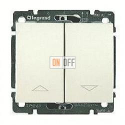 Выключатель управления жалюзи для прямого управления приводом с электрич.блокировкой, 10 А / 250 В~ 775814 - 771514