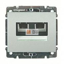 Розетка компьютерная двойная RJ45 5-й кат. 775762 - 771375