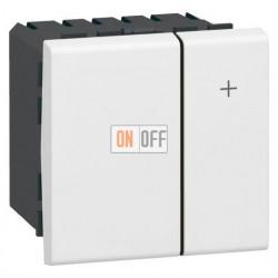 Светорегулятор Mosaic 400Вт, 2 модуля, белый 78401