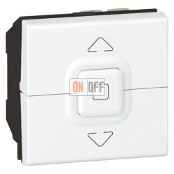 Выключатель Mosaic для управления  жалюзи 2 модуля, белый 77026