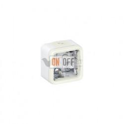 Коробка для накладного монтажа, 1 пост IP55 Legrand Plexo, белый 69689