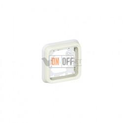 Рамка с суппортом для встроенного монтажа, 1 пост IP55 Legrand Plexo, белый 69692