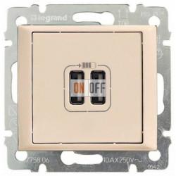 Розетка USB двойная, кремовый глянцевый 774170
