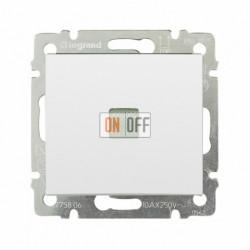 Выключатель одноклавишный с подсветкой 10 А / 250 В~, белый глянец 774410