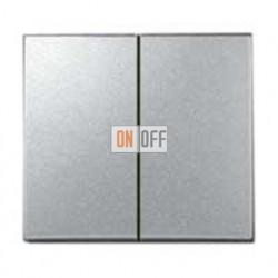 Выключатель двухклавишный, проходной (вкл/выкл с 2-х мест) 10 А / 250 В~ 770108