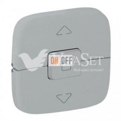 Выключатель управления для жалюзи и рольставней  10 A – 250 В Valena Allure, алюминий 752029 - 755147