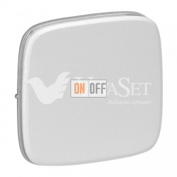 Кнопочный выключатель  6 A - 250 В, Valena Allure перламутр 752011 - 755009