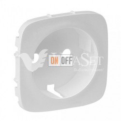 Розетка с заземлением с защитными шторками 16 A - 250 В, безвинтовой зажим Valena Allure, перламутр 753030 - 755209