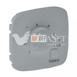 Термостат с датчиком для теплых полов 16 A - 230 В~ Valena Allure, алюминий 752034 - 755327