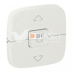 Кнопочный выключатель управления для жалюзи и рольставней 10 A – 250 В Valena Allure, перламутр 752030 - 755149