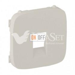 Розетка одинарная акустическая  с пружинными зажимами Valena Allure, слоновая кость 753072 - 755366