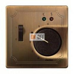 Термостат 230 В~ 10А с выносным датчиком для электрического подогрева пола механизм Eberle FRe 525 22 - MTN537543