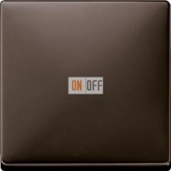 Светорегулятор клавишный универсальный 25-420 Вт. для ламп накаливания и низковольтн.галог.ламп, цвет коричневый MTN577099 - MTN5250-4015