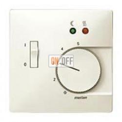 Термостат 230 В~ 10А с выносным датчиком для электрического подогрева пола механизм Eberle FRe 525 22 - MTN537544