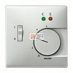 Термостат 230 В~ 10А с выносным датчиком для электрического подогрева пола механизм Eberle FRe 525 22 - MTN537546
