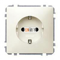 Розетка с заземляющими контактами 16 А / 250 В~ с защитой от детей MTN2300-4044