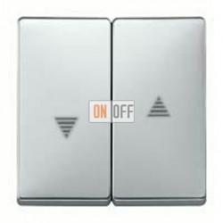 Выключатель управления жалюзи кнопочный, 10 А / 250 В~ MTN3755-0000 - MTN411560