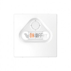 Розетка TV FM оконечная, диапазон частот от 4 до 2400 MГц Merten D-life, белый MTN466099 - MTN4123-6035