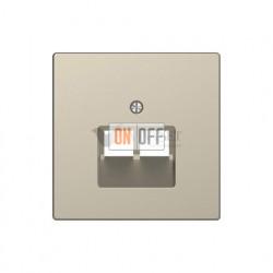 Розетка компьютерная двойная RJ45 6-й кат. Merten D-life, сахара EPUAE8-8UPOK6 - MTN4522-6033