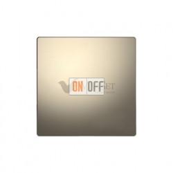 Заглушка с опорной пластиной Merten D-life, никель металл MTN4075-6050