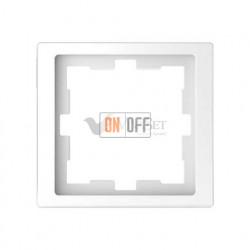 Рамка одинарная Merten D-life белый лотос MTN4010-6535
