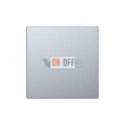 Заглушка с опорной пластиной Merten D-life, нержавеющая сталь MTN4075-6036
