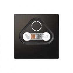 Розетка TV FM проходная, диапазон частот от 4 до 2400 MГц Merten D-life, антрацит MTN466098 - MTN4123-6034