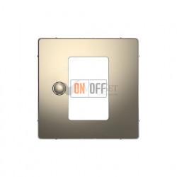 Регулятор теплого пола сенсорный программируемый с датчиком пола Merten D-life, никель MTN5776-0000 - MTN5775-0003 - MTN5775-6050