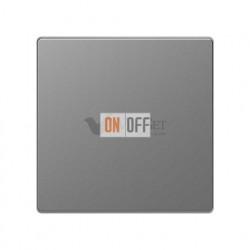 Переключатель одноклавишный (с 2-х мест) 10 А / 250 В~ Merten D-life, нержавеющая сталь MTN3116-0000 - MTN3300-6036