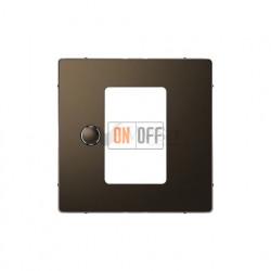 Регулятор теплого пола  сенсорный с датчиком пола Merten D-life, мокко металл MTN5775-0000 - MTN5775-0003 - MTN5775-6052
