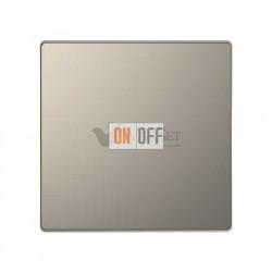 Переключатель одноклавишный (с 2-х мест) 10 А / 250 В~ Merten D-life, никель металл MTN3116-0000 - MTN3300-6050