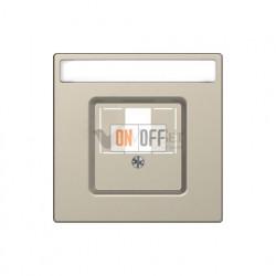 Розетка USB двойная для зарядки Merten D-life, сахара MTN4366-0000 - MTN4250-6033