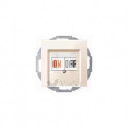 Аудиорозетка одинарная для колонок, кремовый глянцевый MTN466919 - MTN296044
