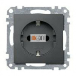 Розетка с заземляющими контактами 16 А / 250 В~ MTN2301-0414