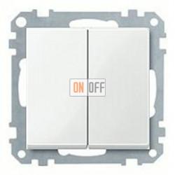 Выключатель двухклавишный, 10 А / 250 В~ MTN3115-0000 - MTN432519