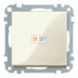 Выключатель одноклавишный 10 А / 250 В~,  кремовый глянцевый MTN3111-0000 - MTN432144