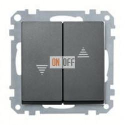 Выключатель управления жалюзи кнопочный, 10 А / 250 В~ MTN3755-0000 - MTN435514