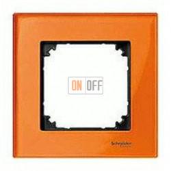 Рамка одинарная Merten M-Elegance, оранжевый кальцит MTN404102