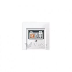 Розетка USB двойная для зарядки, белый глянцевый MTN4366-0100 - MTN296019