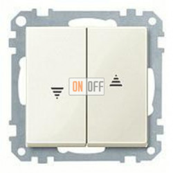 Выключатель управления жалюзи клавишный, 10 А / 250 В~ MTN3715-0000 - MTN432444