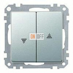 Выключатель управления жалюзи кнопочный, 10 А / 250 В~ MTN3755-0000 - MTN435560