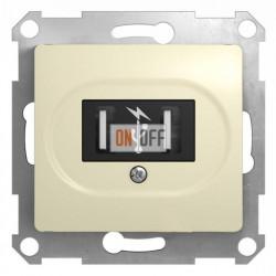 Розетка USB двойная для зарядки, Schneider Glossa бежевый GSL000232