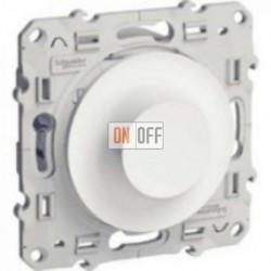 Светорегулятор поворотный 40-600 ВА Schneider Odace белый S52R511