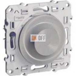 Светорегулятор поворотный 40-600 ВА Schneider Odace алюминий S53R511