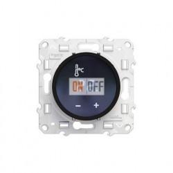 Термостат с сенсорным дисплеем Schneider Odace (черный) S52R509